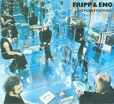 No Pussyfooting [Bonus Disc] [Digipak] by Fripp & Eno/Robert Fripp/Brian Eno (CD, Sep-2008, 2 Discs, Discipline)