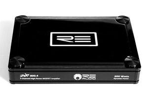 RE Audio Brand NEW - ZTX800.4 v2 (4CH/Class AB) Amplifier
