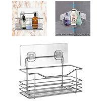 Stainless Steel Rack Storage Organizer Holder-Shelf Kitchen Bathroom Wall Mount