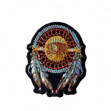 """Dream Catcher Patch 3"""" Motorcycle Motorbike Biker Colour-fast Embroidered"""