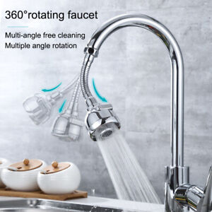 Movable Kitchen 360 Degree Rotating Faucet Tap Head Water Saving Nozzle Sprayer