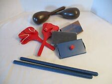 Vintage Lot of Percussion Rhythm Musical Instruments