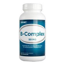 GNC B-Complex 50mg 100 Capsules