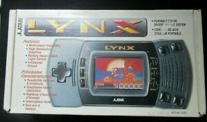 ATARI LYNX Portable Konsole original Display Rate B
