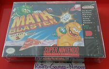 Math Blaster: Episode 1 (Super Nintendo, 1994), SNES, Actual pic, New, Authentic