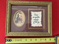 Home Interiors - Jesus Frame (Religious Picture Frame)