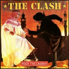 "The Clash – Rock The Casbah -Vinyl, 12"" -CBS – A. 13 2479, 1982."
