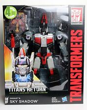 Transformers Generations Titans Return Sky Shadow & Ominus Leader Class Figure
