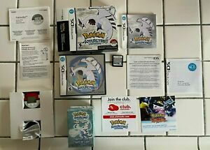 NEAR MINT Pokemon Soulsilver Nintendo DS w/ SEALED Figure + Pokewalker COMPLETE