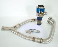 Yamaha YZF-R3 Exhaust Low Mount Exhaust Muffler AR RACING Full System stainless