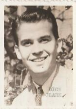 SIGNED Photo Young Dick Clark American Bandstand Music Celebrity VG Free Ship