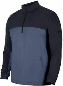 NWT Nike Golf SHIELD VICTORY 1/2 ZIP JACKET Rain Gear OBSIDIAN BV0387 Mens L-XXL
