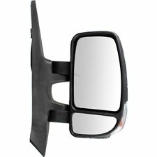 Renault Master 2010-2016 Manual Black Indicator Wing Door Mirror Drivers Side