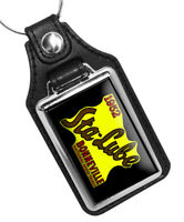 1952 Sta-Lube Bonneville National Speed Trials Design Faux Leather Key Ring