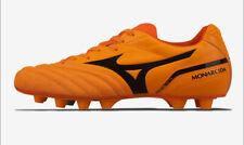 Mizuno Monarcida Japan Men's Soccer Shoes Orange Football Nwt P1Ga192109