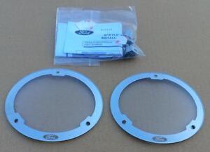 Ford Falcon BA BF XR6 turbo XR8 fog light spot lamp PROTECTORS - set LH + RH