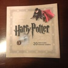 Harry Potter Stamps Collectors Booklet Of 20 Forever Stamps Issued In 2013