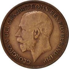 [#99225] Great Britain, George V, Penny, 1914, VF(20-25), Bronze, KM:810