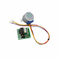 5V 4-Phase Geared Stepper Motor with ULN2003A Driver Board 28BYJ-48 For Arduino