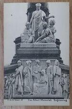 POSTCARD: LONDON, ALBERT MEMORIAL, ENGINEERING: c1914-18
