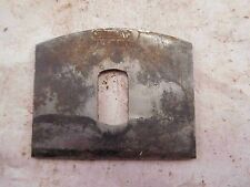 """Iron Stanley Bailey No 51 or No 52 Spoke Shave """"BB"""" Trademark Made in USA (I722)"""