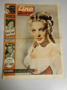 Giornale Cine Illustrato 8 / Maggio 1949  n°19 LINDA DARNELL Shirley Temple