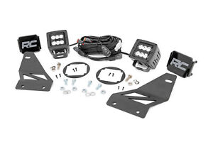 Rough Country LED Cube Fog Light Kit (fits) 2005-2020 Nissan Frontier