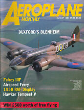 Aeroplane Monthly August 1987