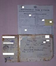 Vespa 125 Faro Basso ANNO 1953 VM2T  - collezione documenti epoca vintage
