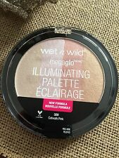 Wet n Wild MEGA GLO ILLUMINATING PALETTE Highlighter 320 Catwalk Pink SEALED