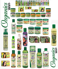 AFRICA'S BEST OLIVE OIL HAIR CARE PRODUCTS BY ORGANIC'S(FULL RANGE)-FREE UK POST