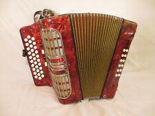 Hohner Corona iii r Handharmonika G-C-F