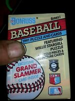 Donruss Series 1. /1991 puzzle and cards