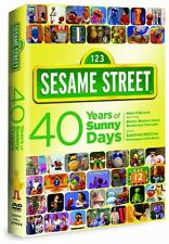 Sesame Street: 40 Years of Sunny Days [2 Discs] (2009, DVD NUEVO)2 DI (REGION 1)