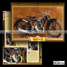 #143.05 Fiche Moto ZÜNDAPP EM 250 1925-27 Classic Bike Motorcycle Card