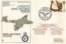 LETTRE AVIATION ROYAL AIR FORCE HENDON 1972