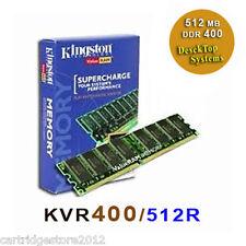 Brand New Kingston - DDR [[ KVR400/512R ]] memory * PC 3200 * CL3 184 * PinDIMM