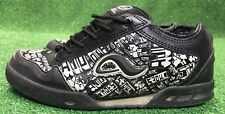 Men's Adio Kenny Anderson size 8 fat tounge skate shoes Black White Rare