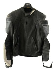 Dainese Leather Motorcycle Riding Jacket - Size 48