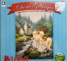 """Pre-owned Dona Gelsinger angel collection """"Believe"""" 1000 pcs jigsaw puzzle"""