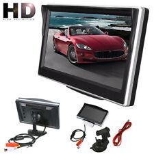 5inch 800*480 TFT LCD HD Moniteur d'écran caméra de recul arrière de voiture