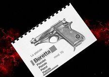 BERETTA MODEL 70 Series Pistol Owners  Manual