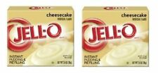 Jell-O Cheesecake Instant Pudding Dessert Mix 2 Box Pack