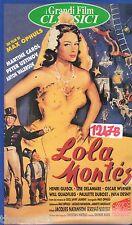 Lola Montes (1955) VHS AVO film  Video  Ed.  Classici - 2 Nomination Oscar