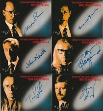 THE X-FILES FIGHT THE FUTURE MASTER SET WITH ALL 6 AUTOGRAPH CARDS TOPPS 1998