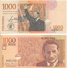 Kolumbien / Colombia - 1000 Pesos 2. 8. 2016 UNC - Pick 456