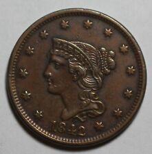1842 US Large Cent WR1127