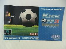 69599 Instruction Booklet - Kick Off 3 European Challenge - Sega Mega Drive (199