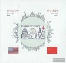 Czechoslovakia block82b (complete.issue.) unmounted mint / never hinged 1988 Ame