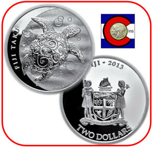 Silver Taku ~25 Direct Fit 41mm Coin Capsule For Fiji 1 oz